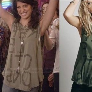 Free People Reflections tank top